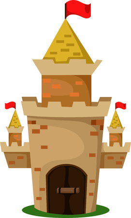 Illustrator of castle two Vector