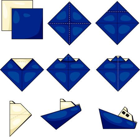 ship origami