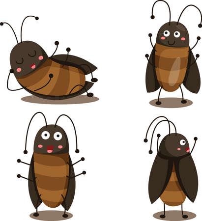 Illustrator of cockroach