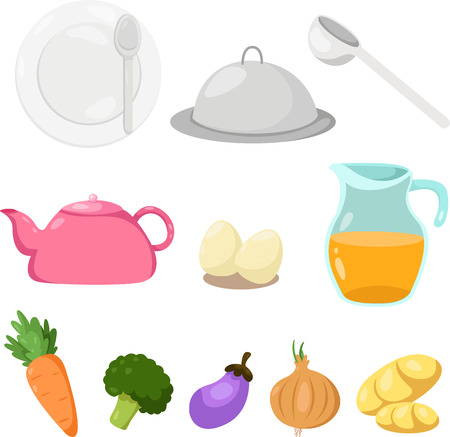 Illustrator of cookware