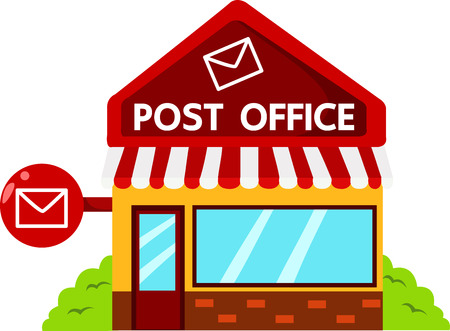 post office: Ilustrador de oficina de correos