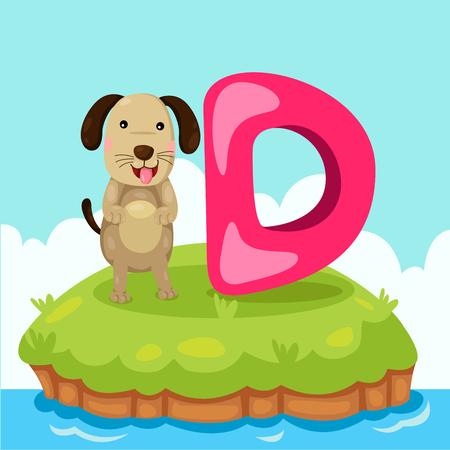 wag: Illustrator of Letter B is for dog