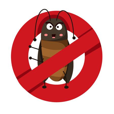 roach: Illustrator of anti cockroach
