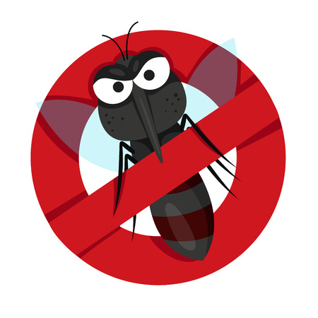 no mosquito: Illustrator of Anti Mosquitoes
