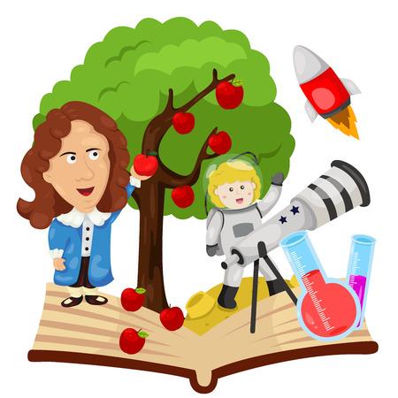 Illustrator of Sir Isaac Newton