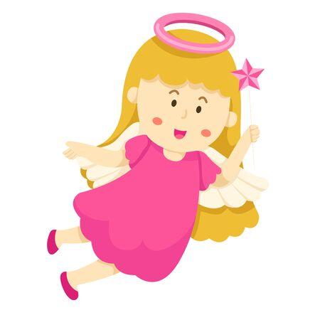 causal: Illustrator of angel Illustration