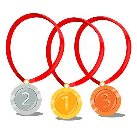 silver medal: Gold, silver, bronze medal