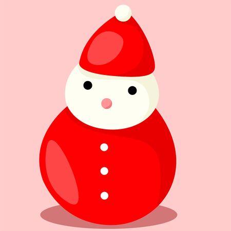 snow man: Illustrator of snow man Illustration