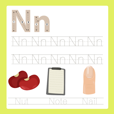 kitchen ware: Illustrator of N exercise A-Z cartoon vocabulary