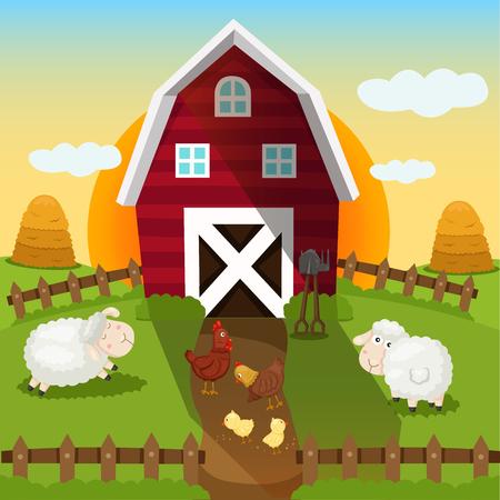 rookie: Illustrator of farm and sunset