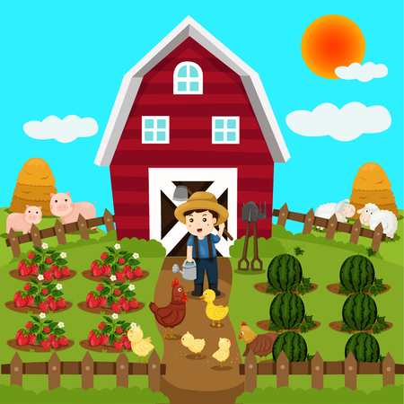 rookie: Illustrator of farm animal and fruit
