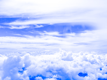 blue sky background one