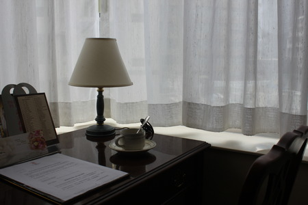 Photo for Home office and table with coffee