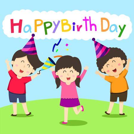 Illustrator of Birthday Card Illustration