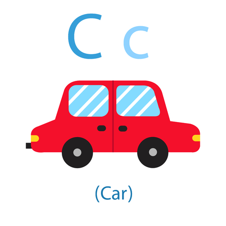 Illustrator of C for Car