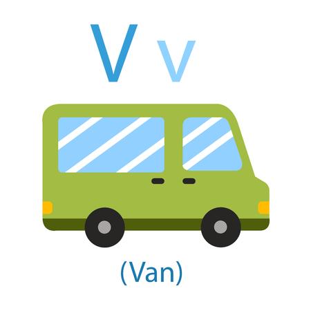 Illustrator of V for Van