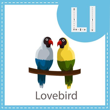 Illustrator of Lovebird