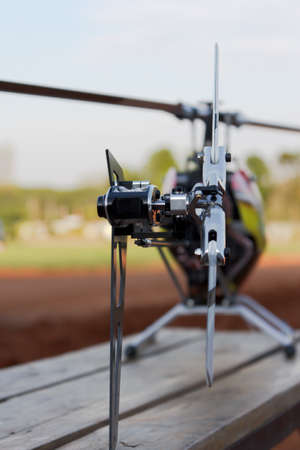 rc: Rc helicopter 스톡 사진
