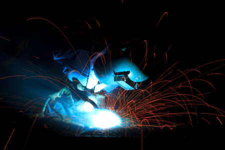 Welder working photo