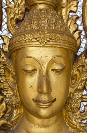 budda: face of golden budda