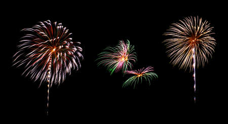 Feuerwerk Standard-Bild - 24478359