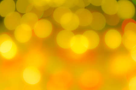 Abstract background of blurred lights with bokeh