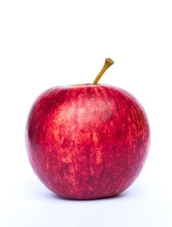 Roter Apfel auf weißem Hintergrund Standard-Bild - 29840466