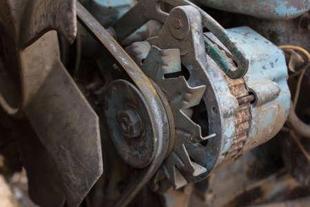 Old generator Standard-Bild