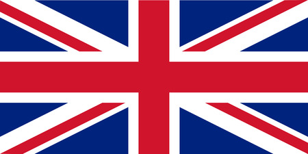 bandera uk: Las proporciones estándar para la República del Reino Unido Vectores