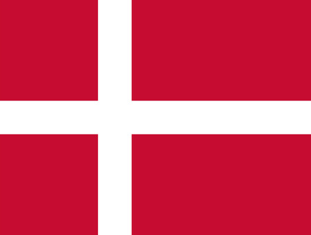 proportions: Standard Proportions for Denmark Flag Country