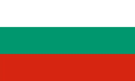 bulgaria: Standard Proportions for Bulgaria Flag Country Illustration