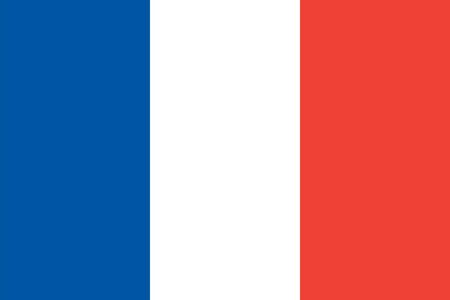 Standard Proportions for France Flag Country