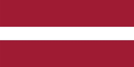 proportions: Standard Proportions for Latvia Flag Country Illustration