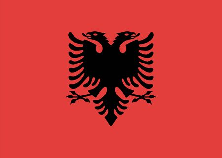 Standard Proportions for Albania Flag Country