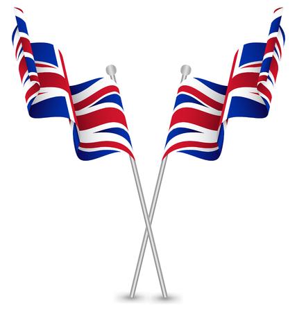 united kingdom: The United Kingdom UK Waving Flag