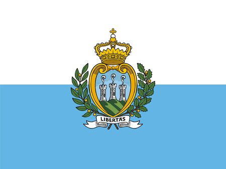 proportions: Standard Proportions and Color for San Marino Flag