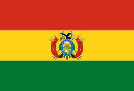 proportions: Standard Proportions and Color for Bolivia Flag