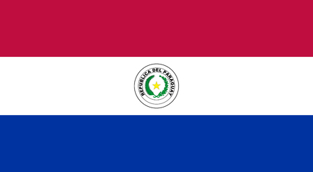 proportions: Standard Proportions and Color for Paraguay Flag