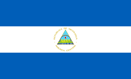proportions: Standard Proportions and Color for Nicaragua Flag