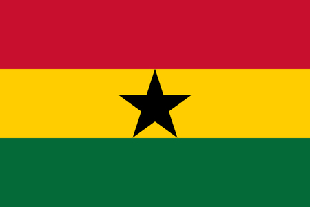 proportions: Standard Proportions and Color for Ghana Flag