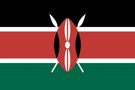 proportions: Standard Proportions and Color for Kenya Flag