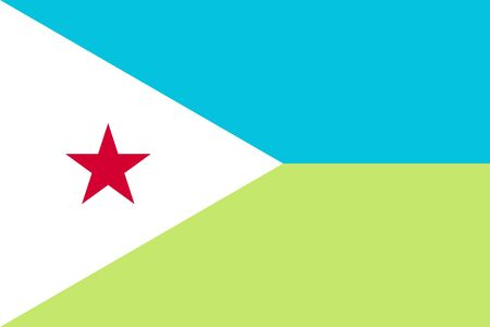 proportions: Standard Proportions and Color for Djibouti Flag
