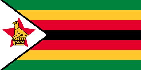 zimbabwe: Standard Proportions and Color for Zimbabwe Flag