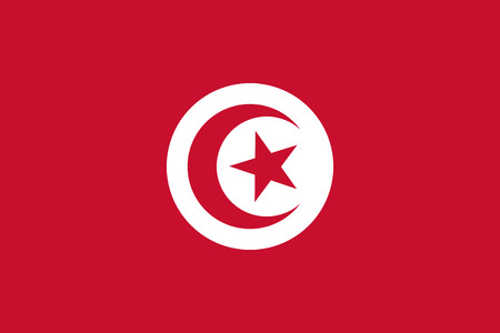 proportions: Standard Proportions and Color for Tunisia Flag