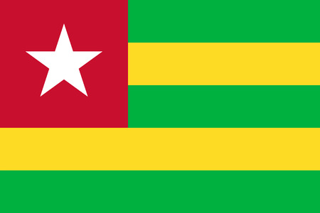 proportion: Standard Proportions and Color for Togo Flag