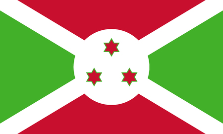 proportions: Standard Proportions and Color for Burundi Flag