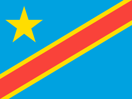 democratic: Standard Proportions and Color for Democratic Republic of the Congo