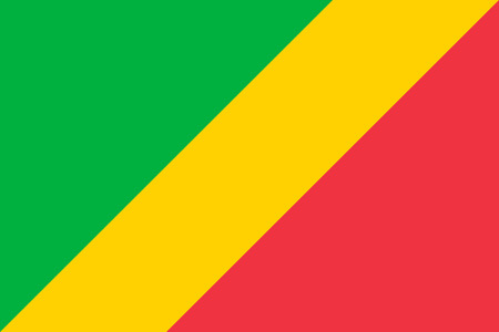 proportions: Standard Proportions and Color for Republic of the Congo Flag