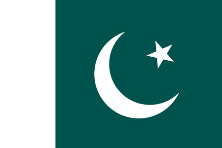 pakistan flag: Standard Proportions and Color or Pakistan Flag