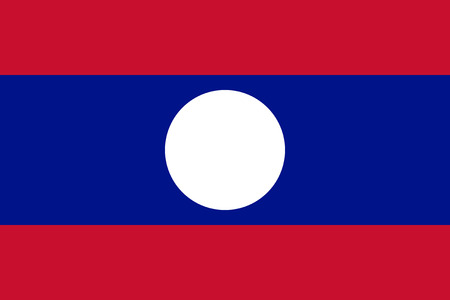 proportions: Standard Proportions and Color for Laos Flag